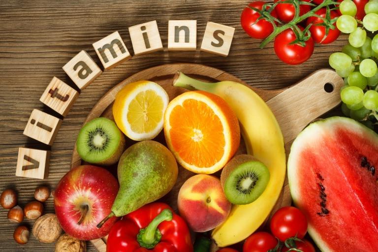 ビタミン類が摂取できる食材例